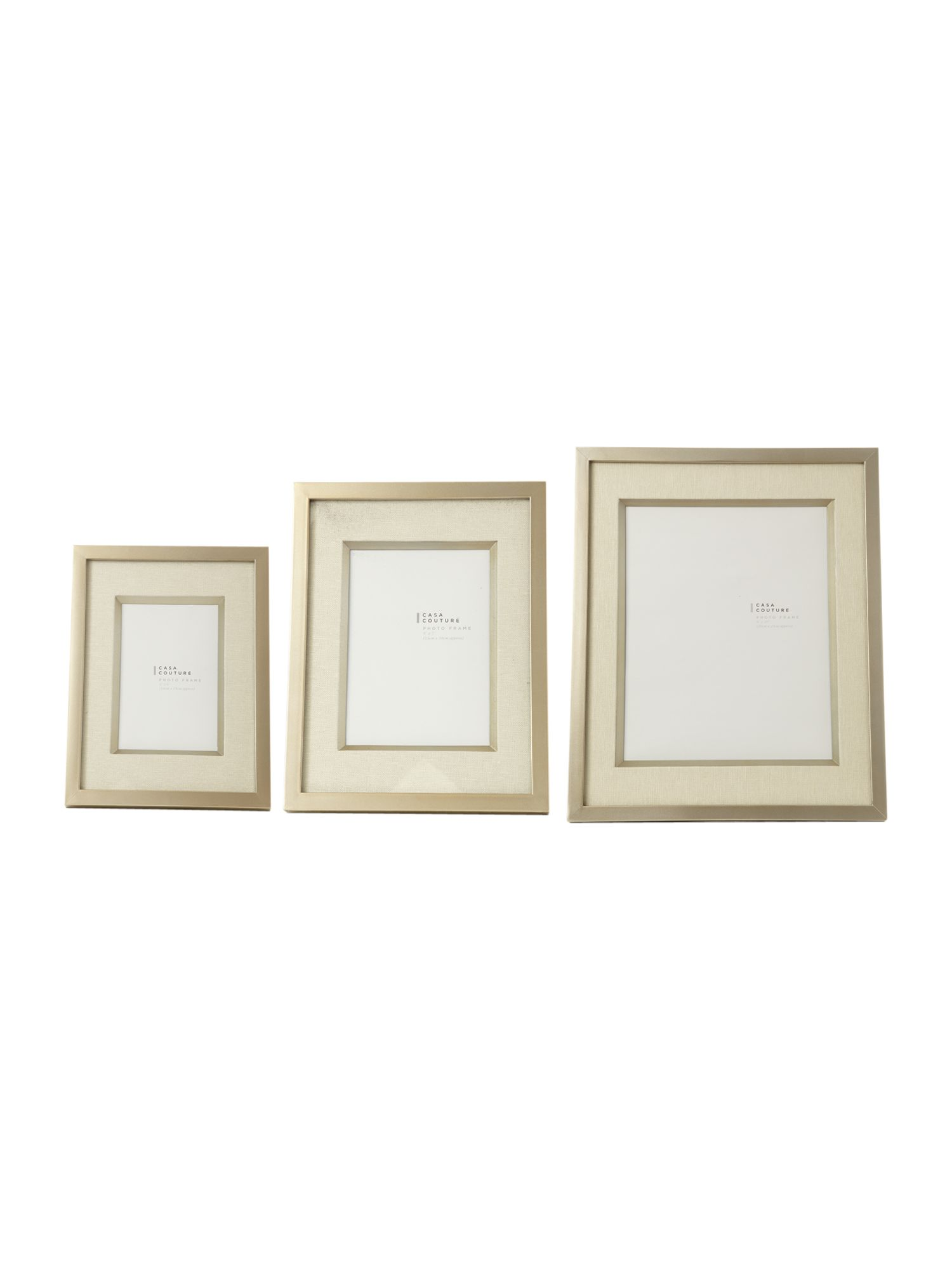 Fabric mount frames