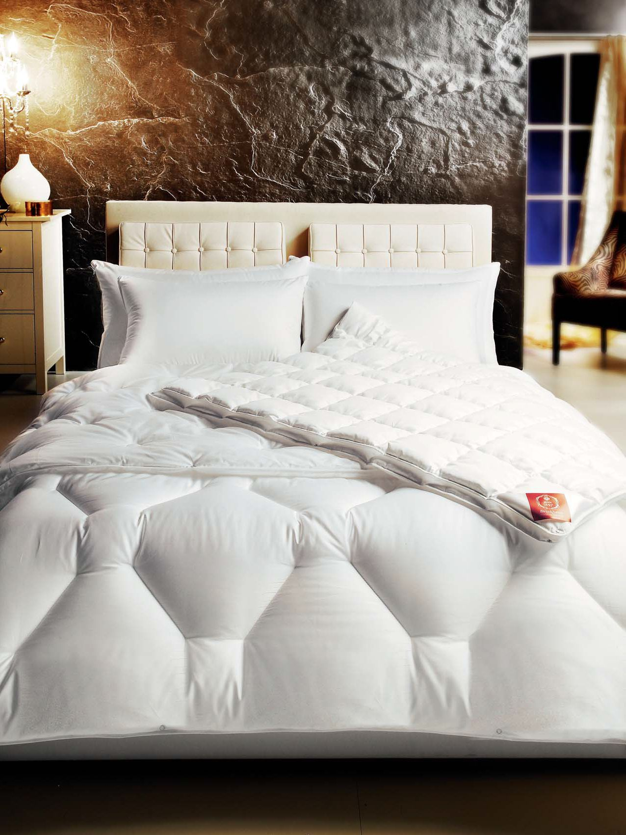 Image of Brinkhaus Bauschi Lux polyester double warm duvet