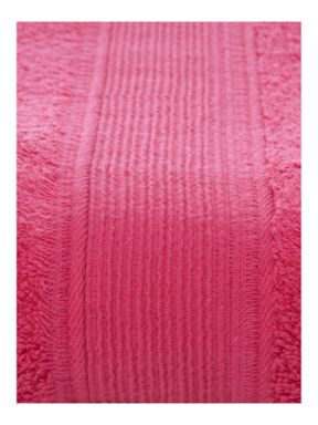 Linea Super soft towels and bathmat in pink