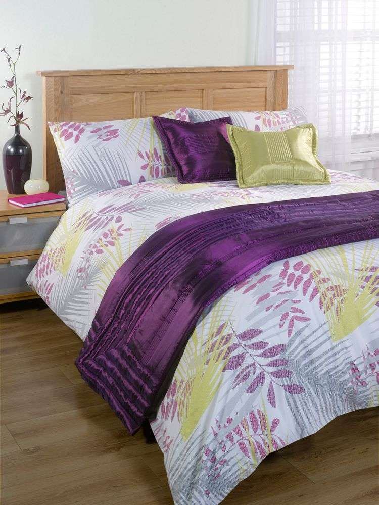 Linea-Leaf-Print-Cover-Set-In-Multi-Pastel-Double-or-King-Size