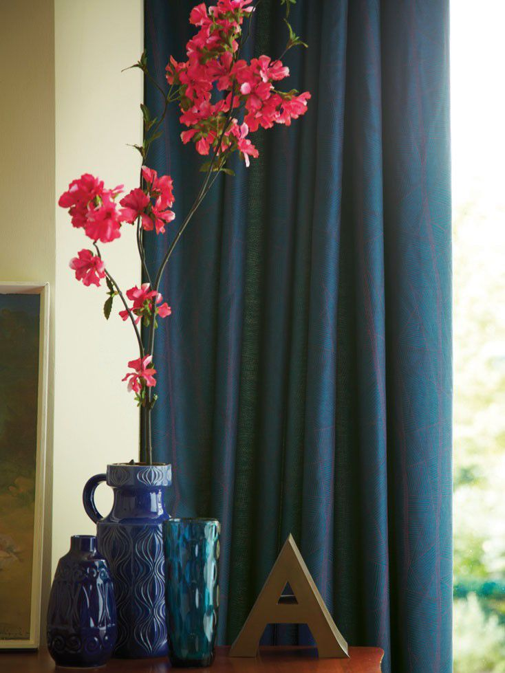 Athena curtains 90x90 teal 158763394