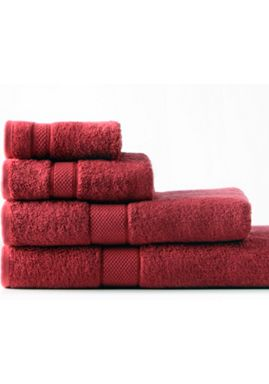 Sheridan Egyptian luxury towel range in scarlet