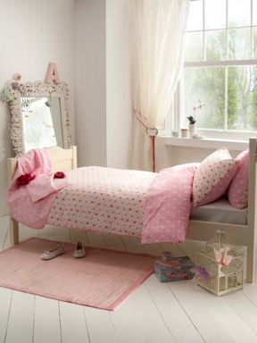 Cath Kidston Provence rose bed linen in pink