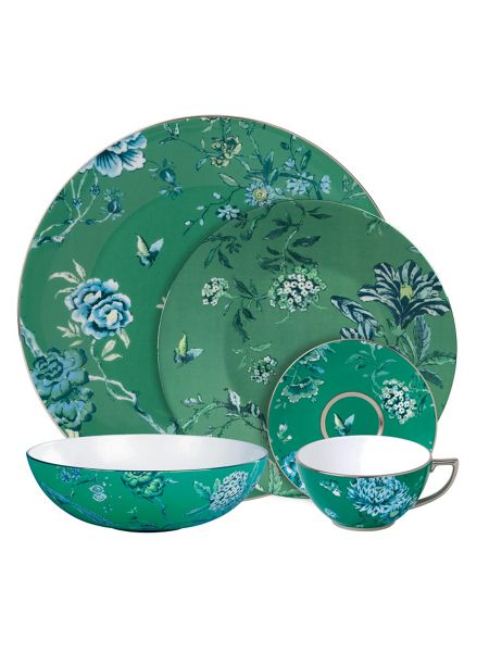 Wedgwood Chinoiserie Green Espresso Cup