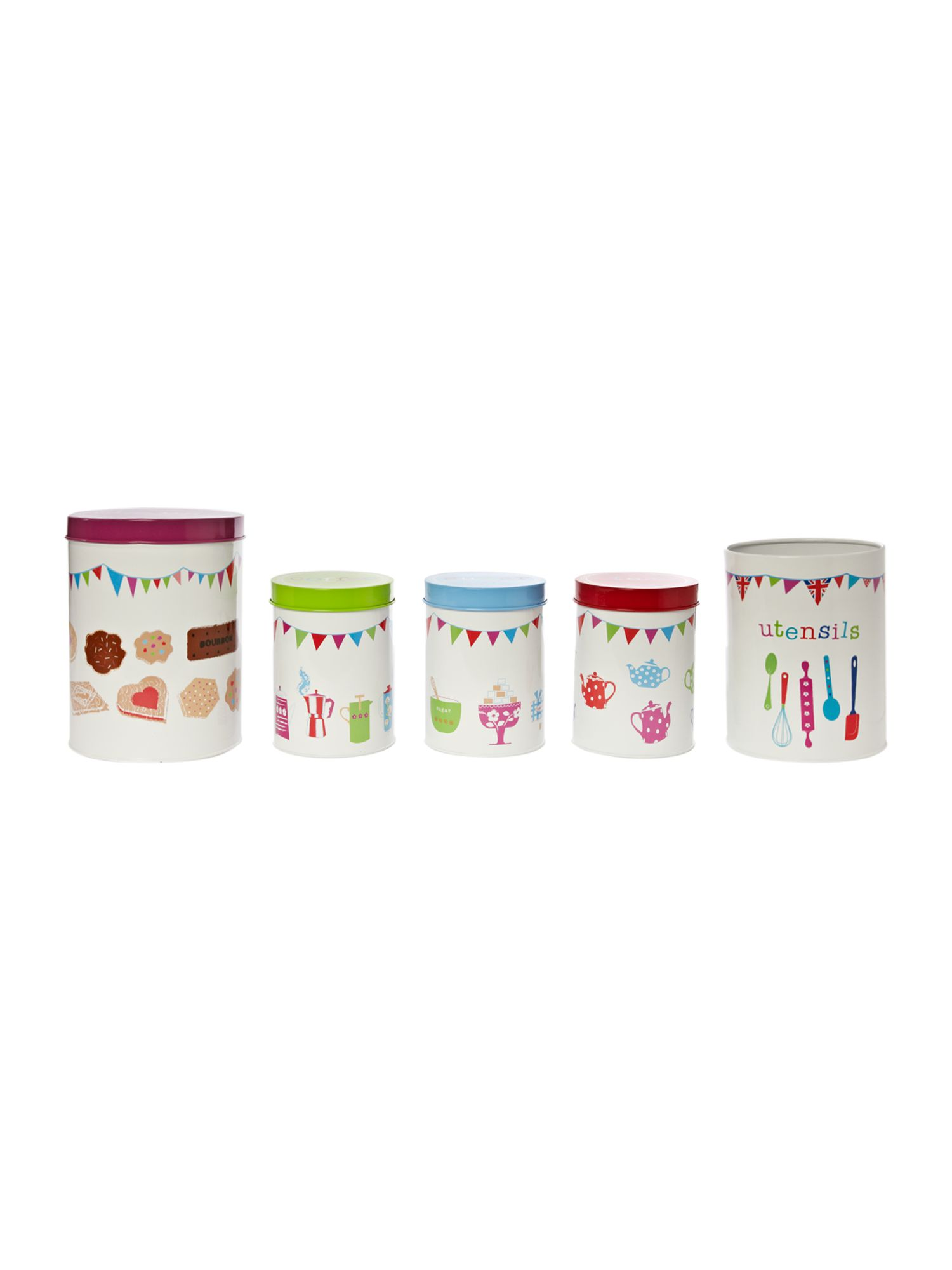 Linea by Michelle Mason Storage Tins