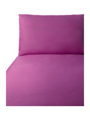 Linea Cotton rich aubergine bed linen