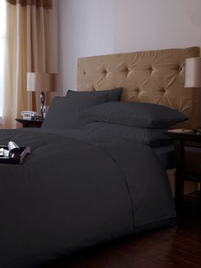 Luxury Hotel Collection 500 Thread count pewter sheeting range