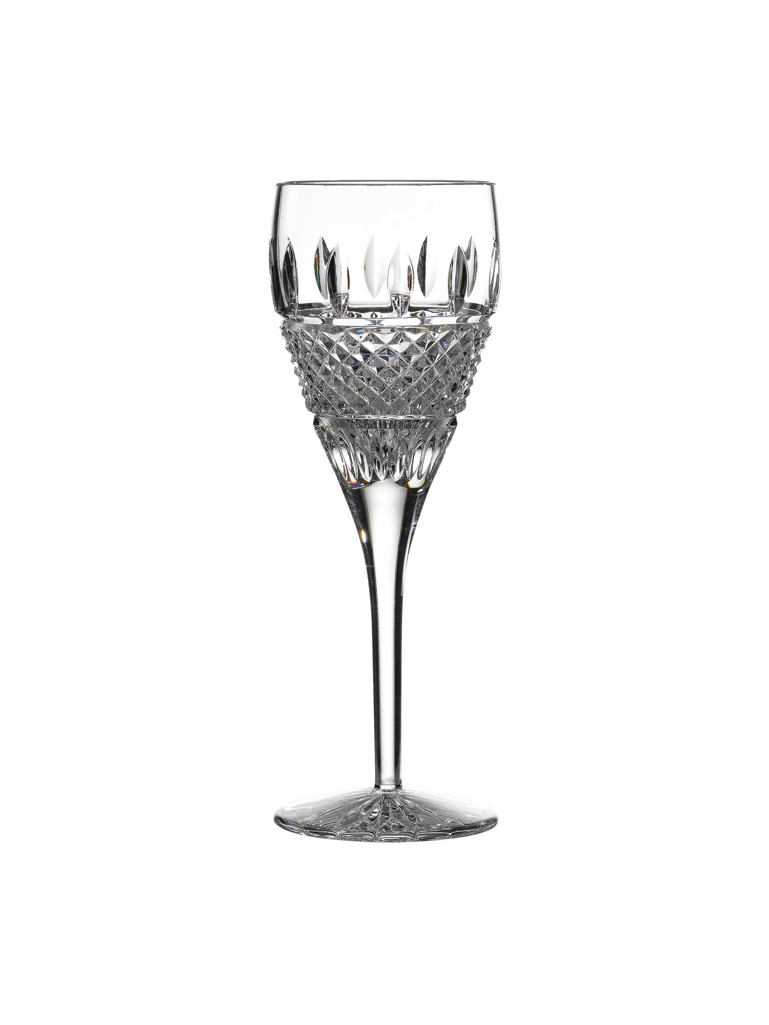 Irish lace glassware