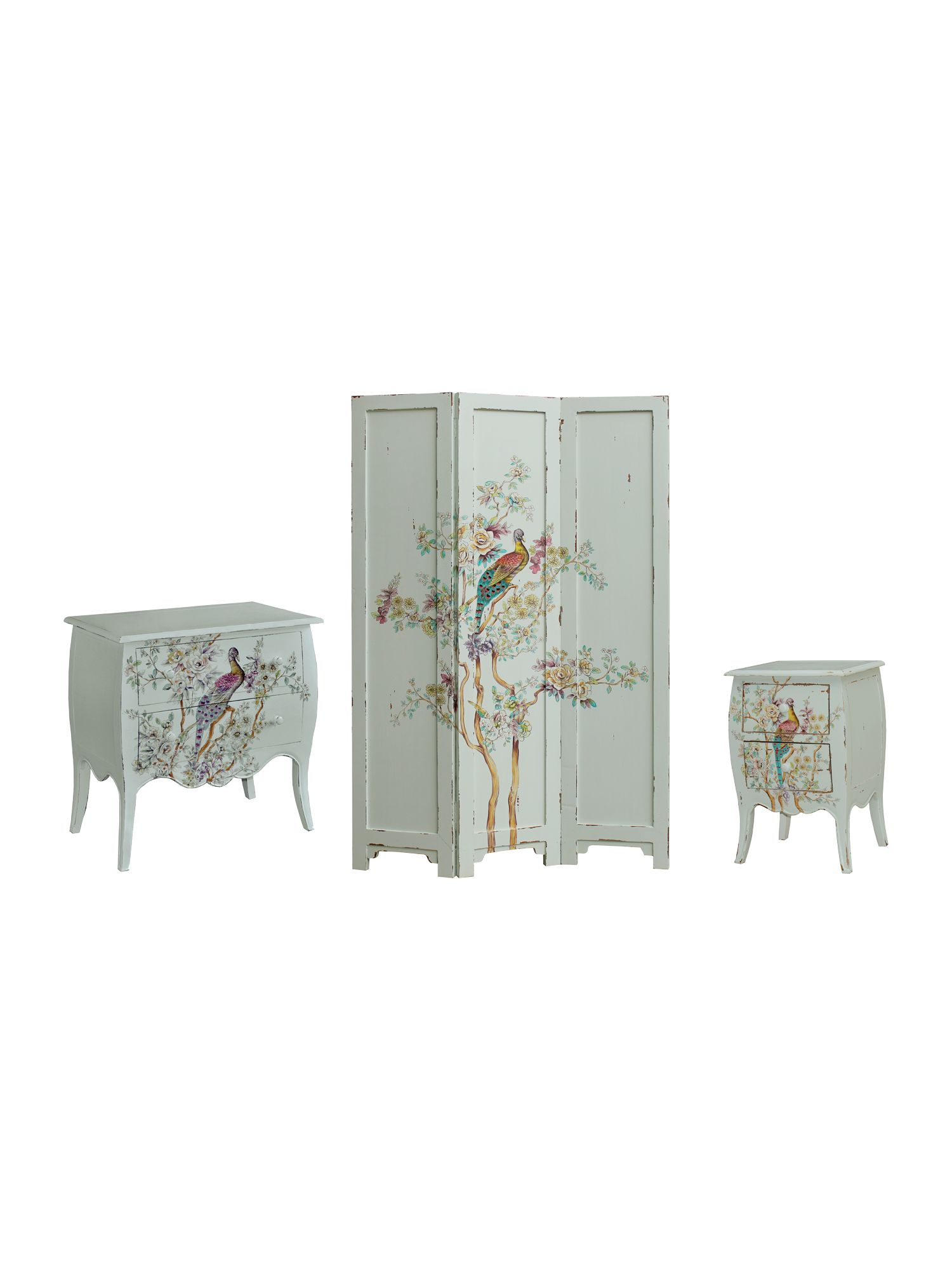 Peacock Bedroom Furniture Range