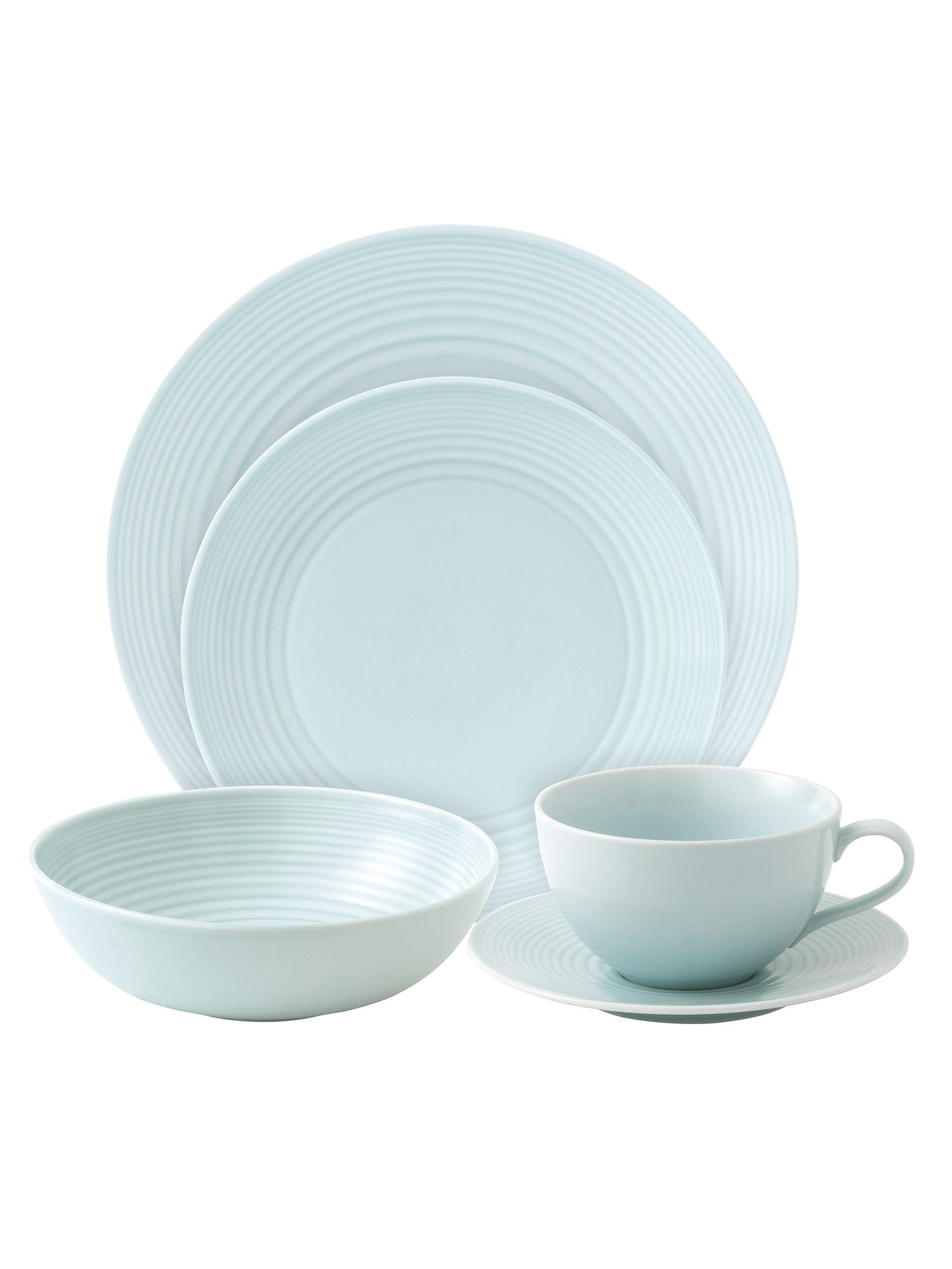 Gordon Ramsay maze blue dinner range