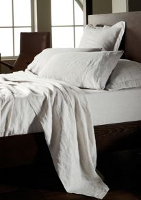 Sheridan Abbotson bed linen in white
