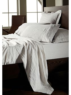 Abbotson White Double Fitted Sheet