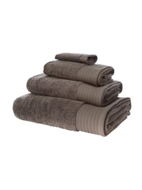 Hotel Collection Luxury 700 gsm towels in iron