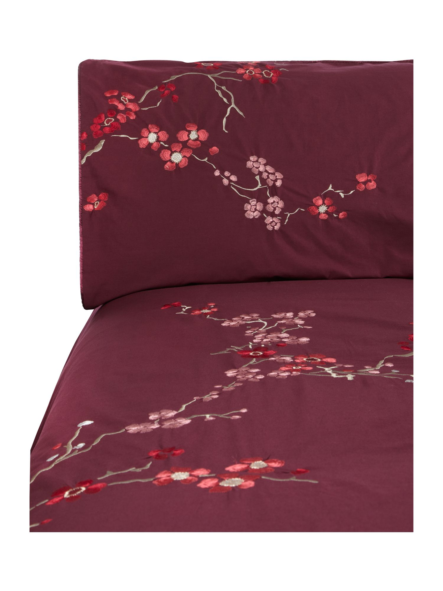 Bamboo Flower bed linen