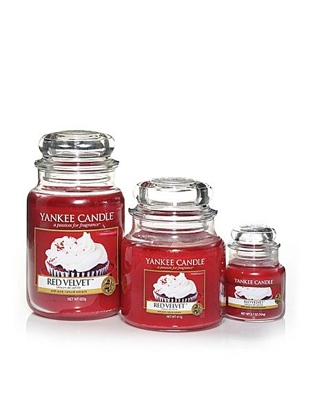 Red velvet scented housewarmer range