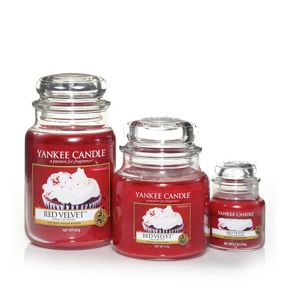 Yankee Candle Red velvet scented housewarmer range
