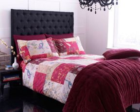 Pied a Terre Oriental Patchwork bed linen
