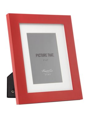 Kenneth Cole Red lacquer frames