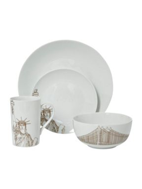 Kenneth Cole New York to China dinnerware