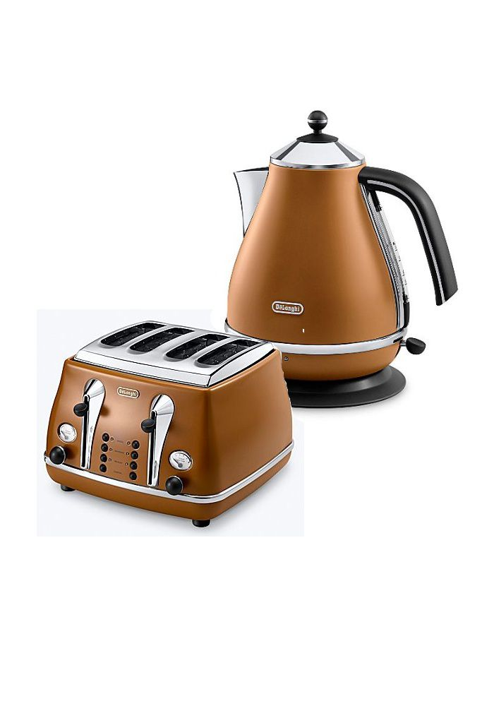 Delonghi tan kitchen range