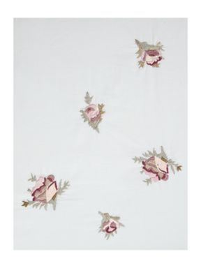 Shabby Chic Rose embroidered bed linen range