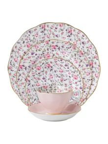 Royal Albert Rose confetti dinnerware range