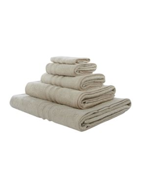 Ralph Lauren Signature pony towels in silver