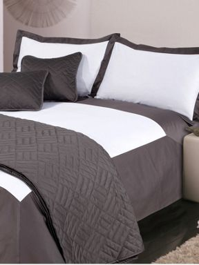 Luxury Hotel Collection 500 thread count Oxford bed linen grey