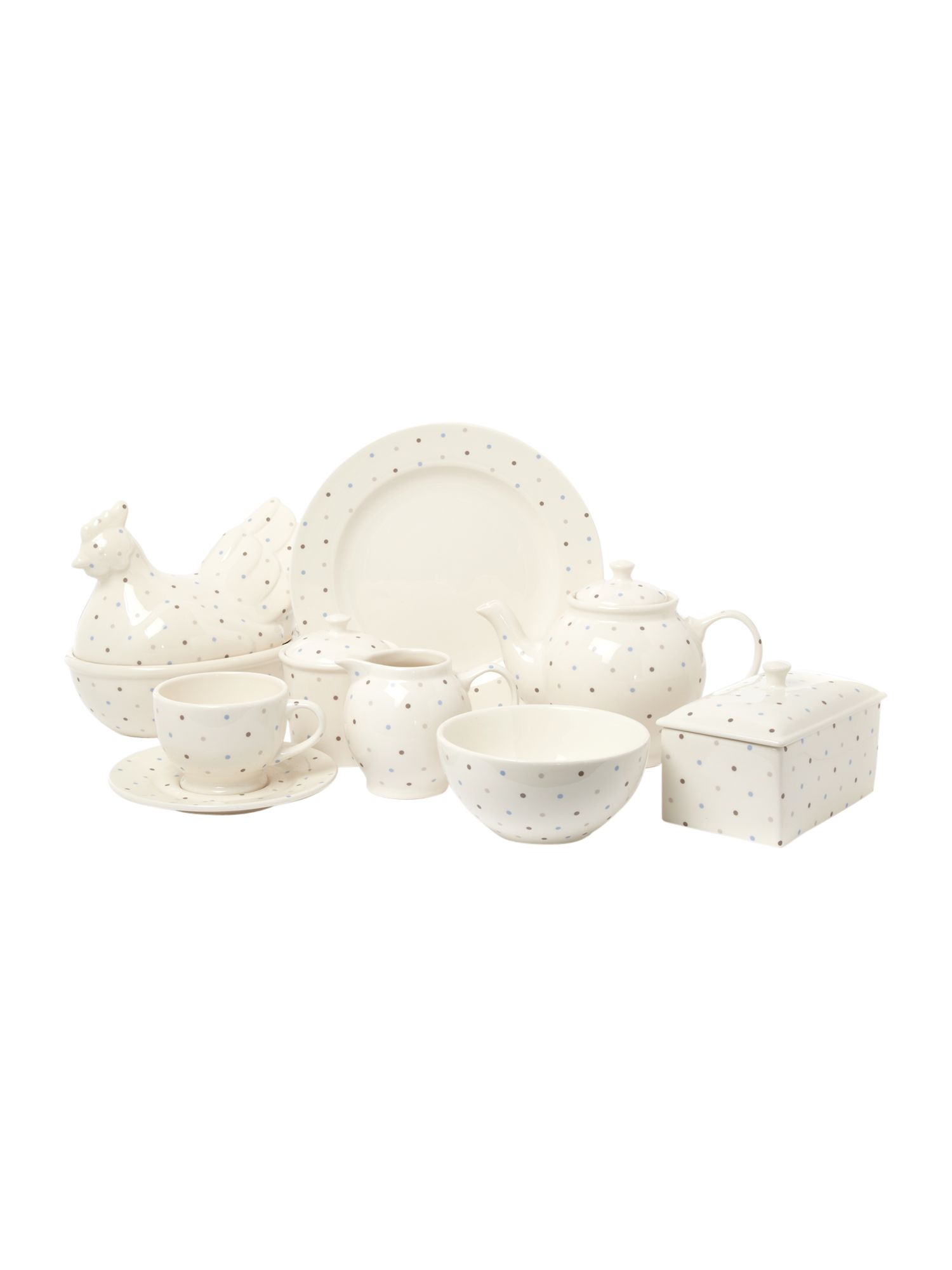 Homespun dotty kitchen range