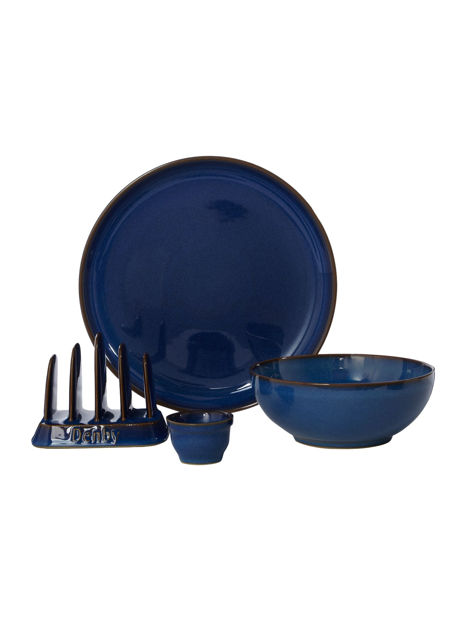 Imperial blue breakfast range