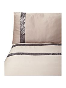 Safia bed linen in truffle