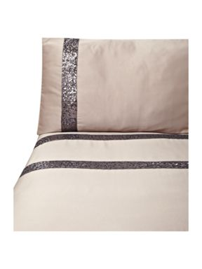 Kylie Minogue Safia bed linen in truffle