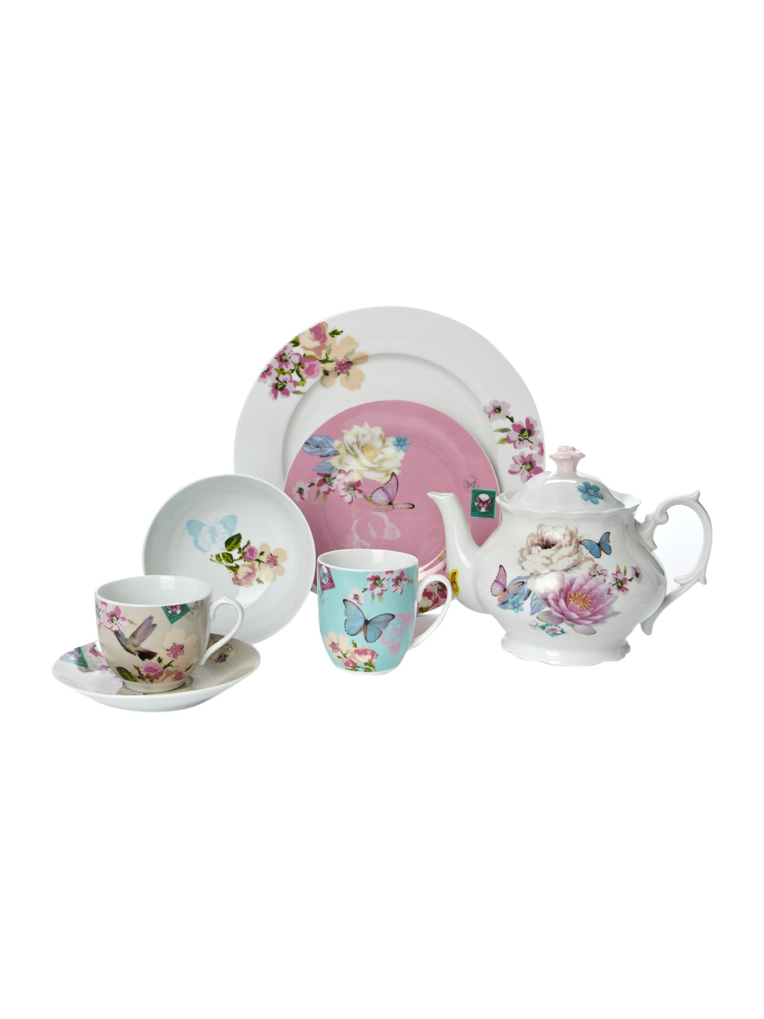 With Love dinnerware
