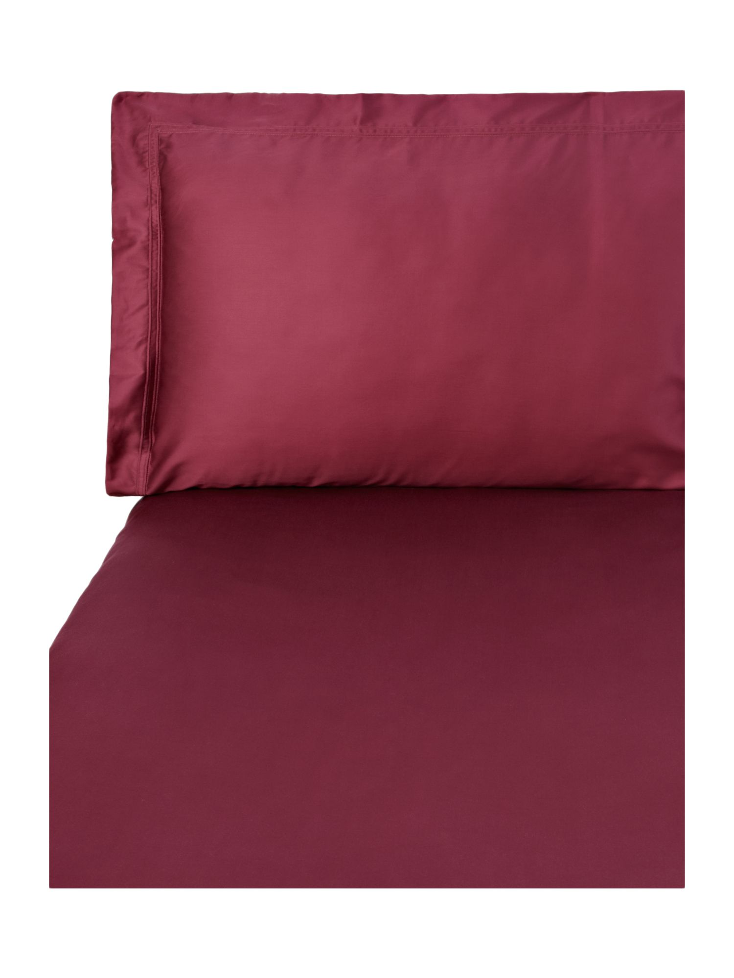 Triomphe rubino king fitted sheet