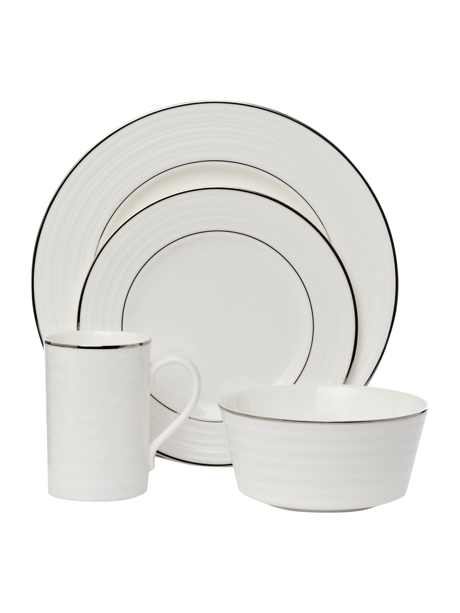 Soho Platinum Dinnerware