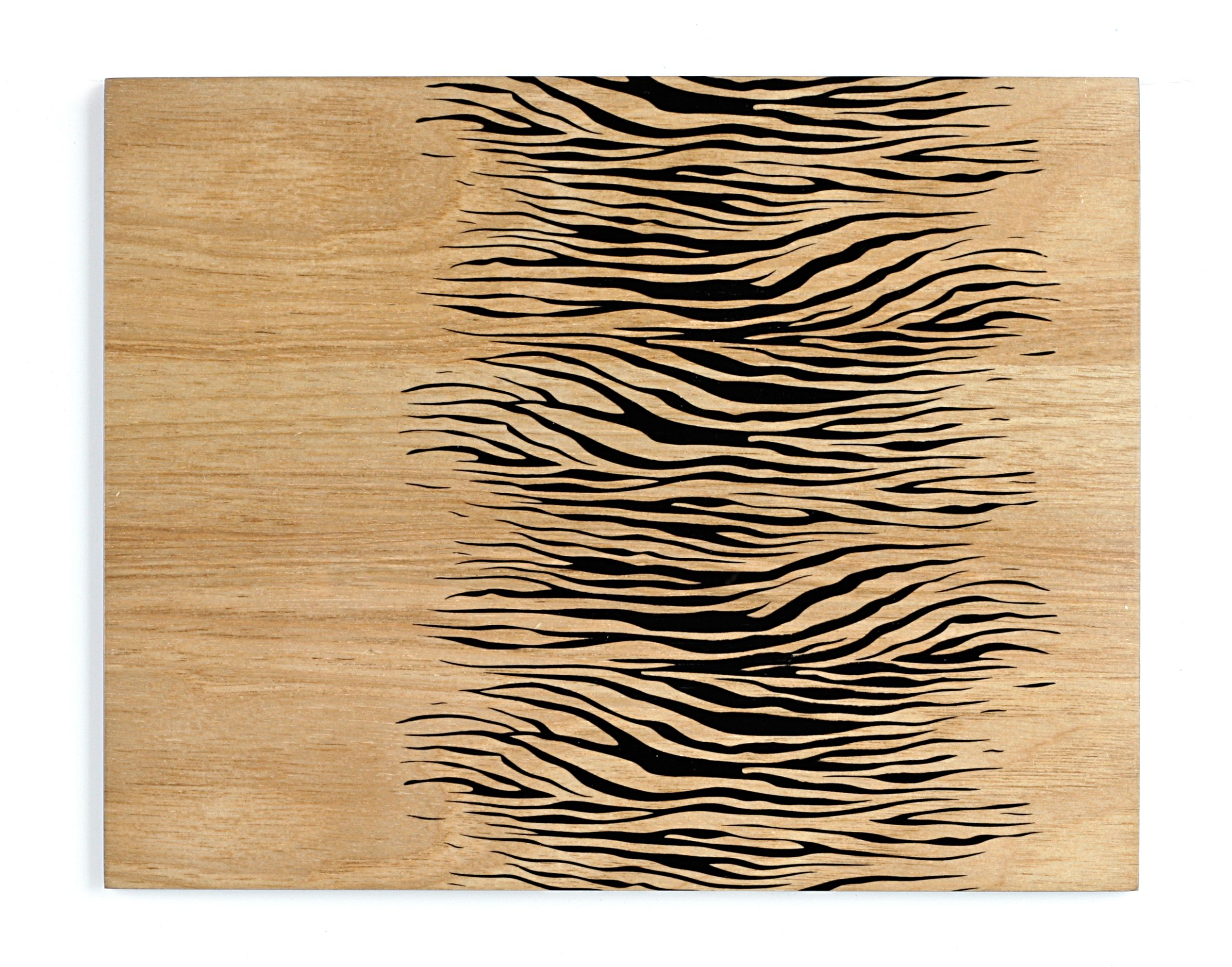 Zebra wood placemats & coasters