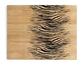 Inspire Zebra wood placemats & coasters
