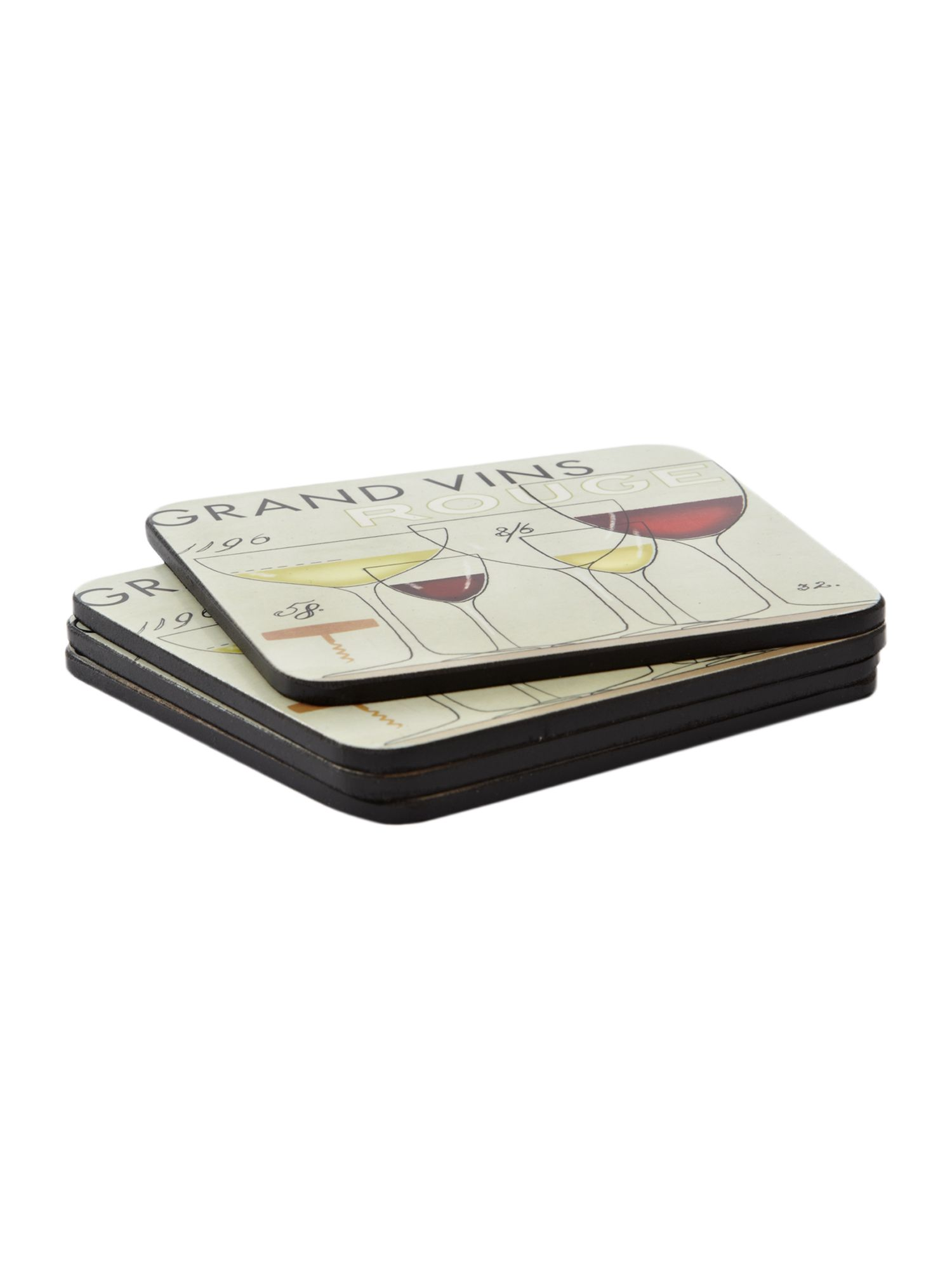 Grand vin placemats set of 4
