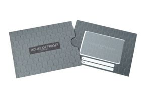 House of Fraser Art Deco Gift Card