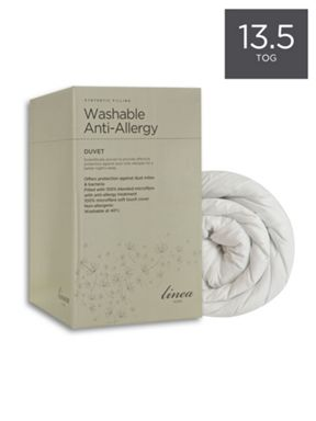 Linea Washable anti allergy duvets 13.5 tog