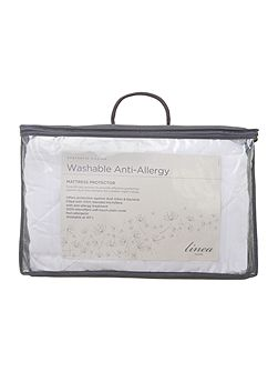 Washable Anti Allergy single mattress protector