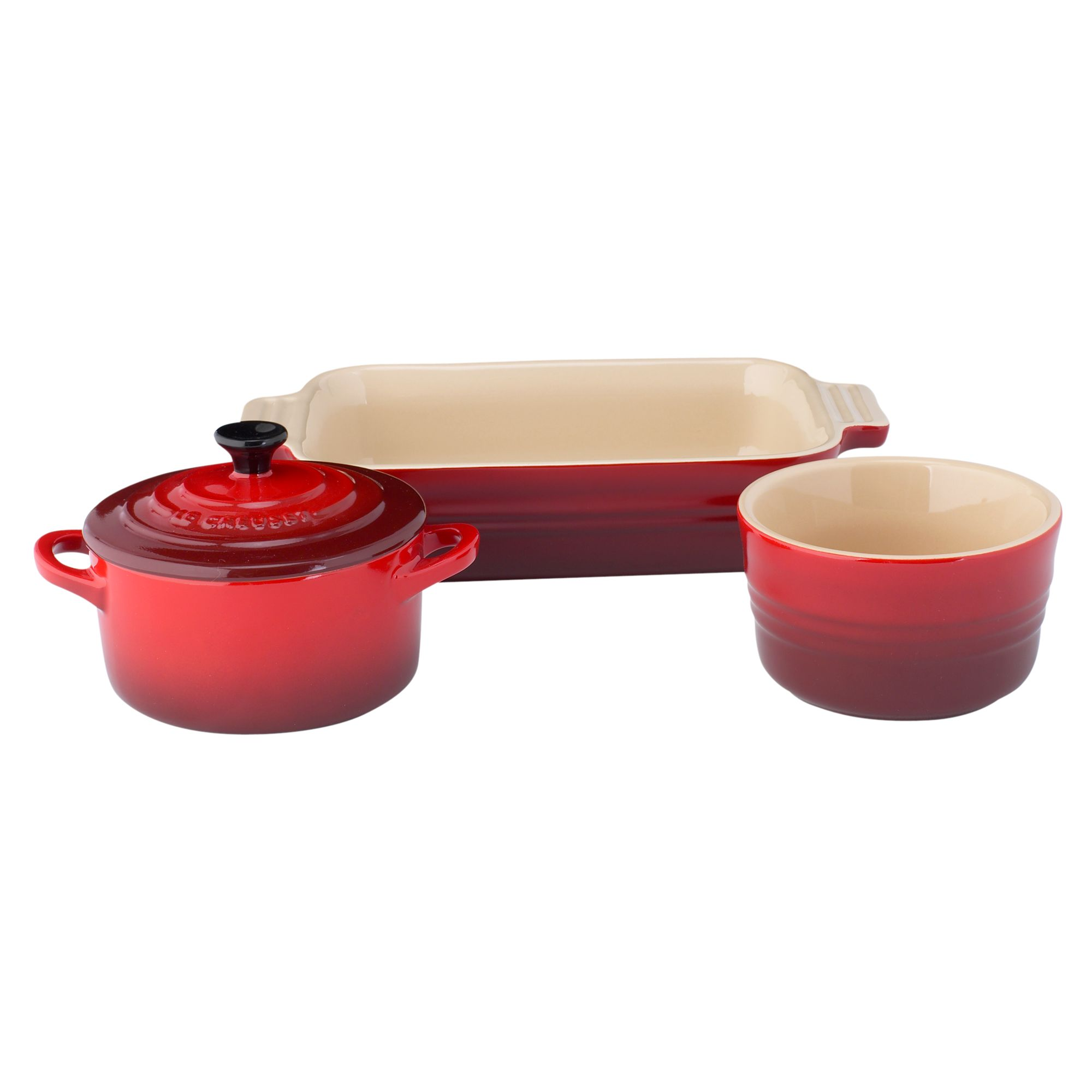 Cookware in Cerise