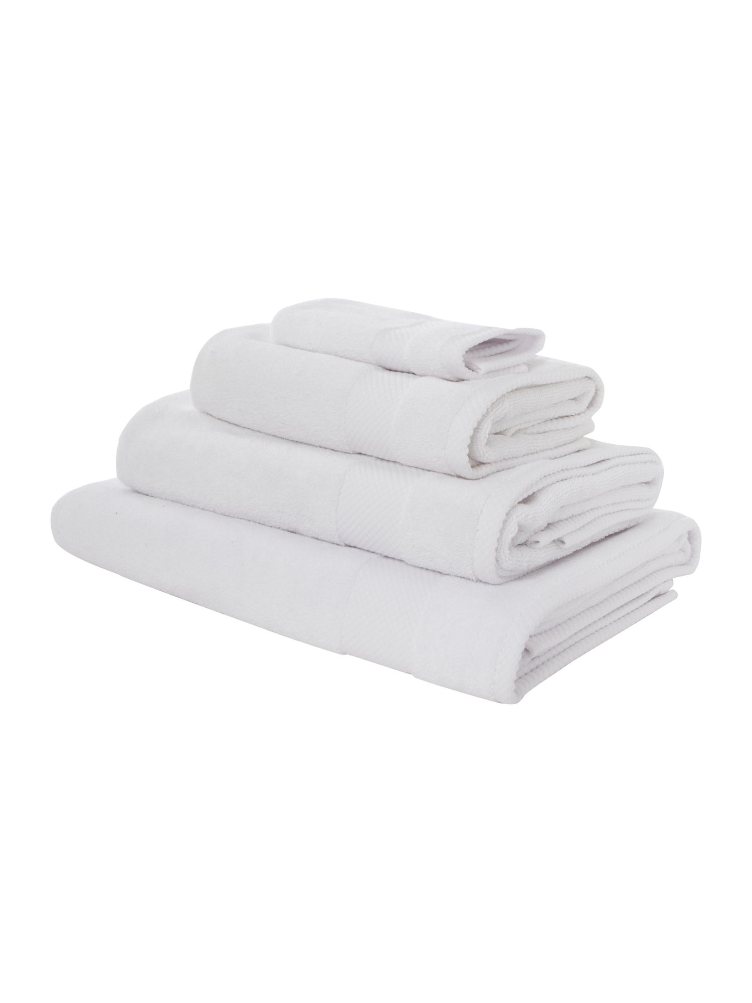 Linea Egyptian cotton bath sheet white