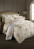 Sheridan Fordham bed linen in oyster
