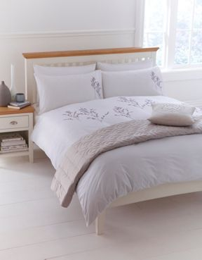Linea Heather bed linen in natural