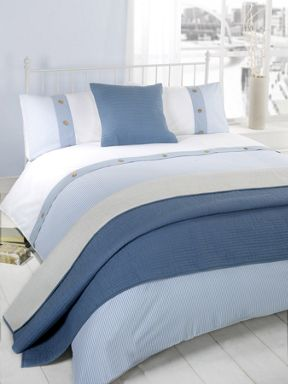 Linea Nautical stripe bed linen sets