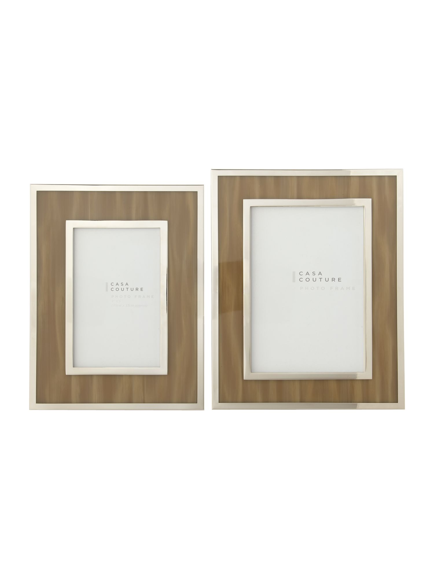 Horn effect photo frames