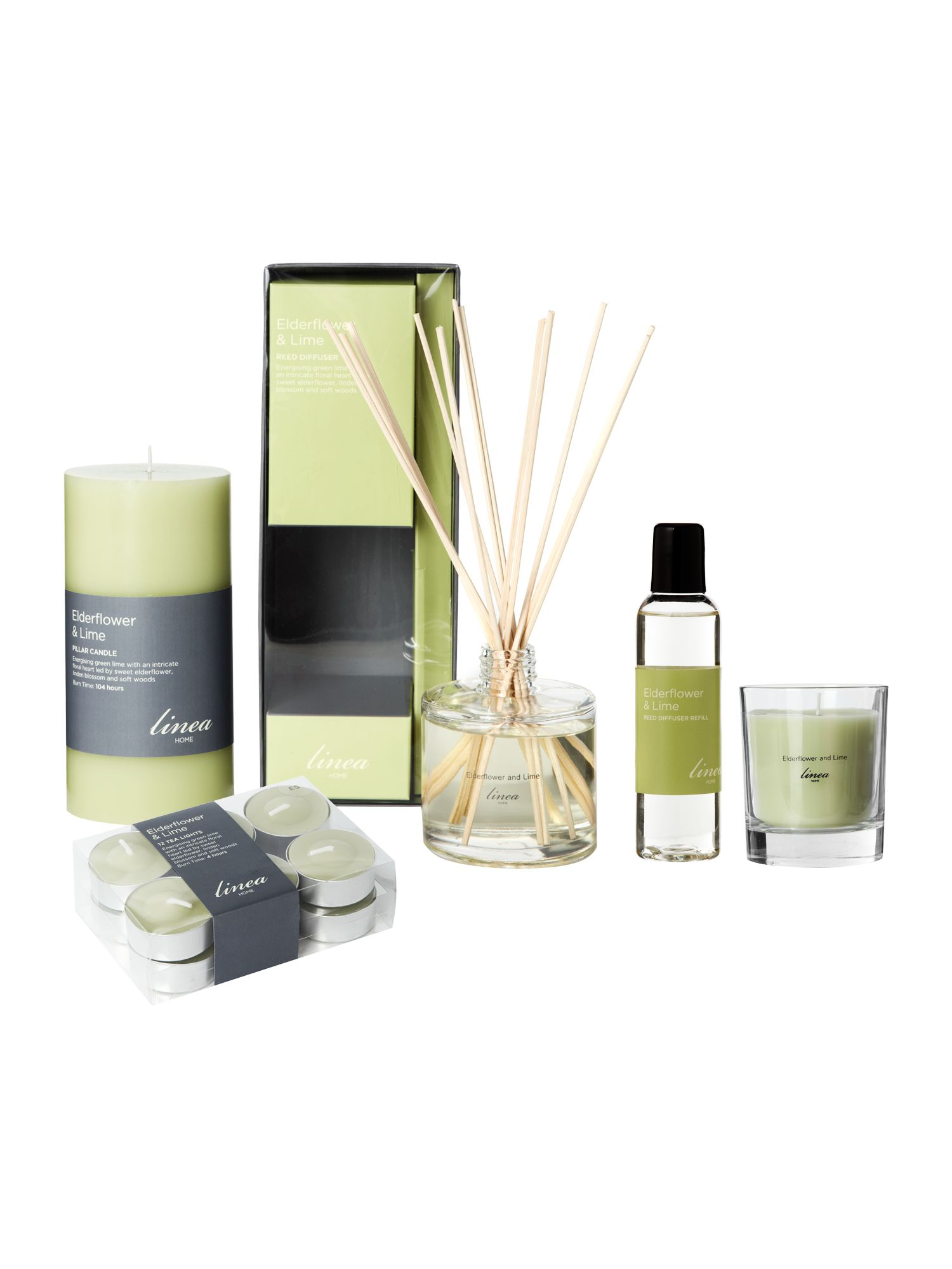 Elderflower and lime room fragrance