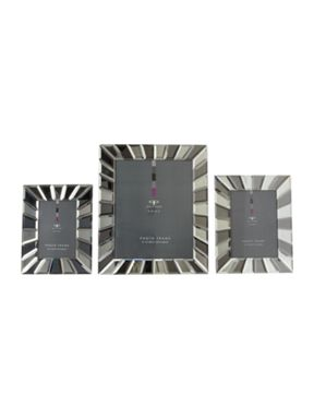 Pied a Terre Starburst glass bevelled photo frames