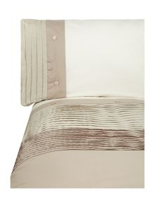 Linea Natural pleat bedlinen sets
